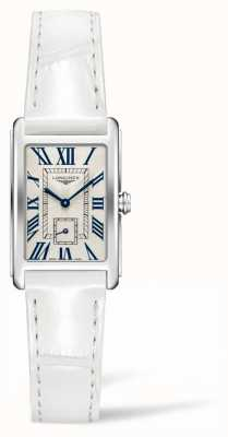 Longines DolceVita Elegance Contemporary | Women's |White Leather | Swiss Quartz L52554712
