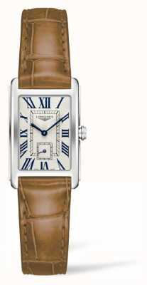 Longines DolceVita Women's Brown Leather Strap L52554714
