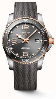 Longines Hydroconquest 41mm Automatic | Grey Dial | Grey Rubber Strap L37813789