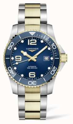 Longines HydroConquest 41mm | Automatic | Two Tone | Blue Dial L37813967