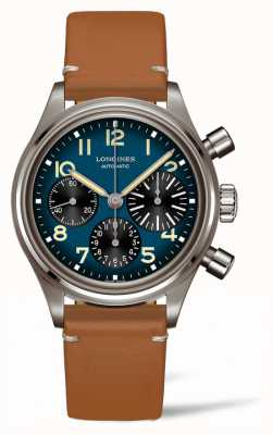 Longines Heritage | Avigation BigEye | Brown Leather Strap L28161932