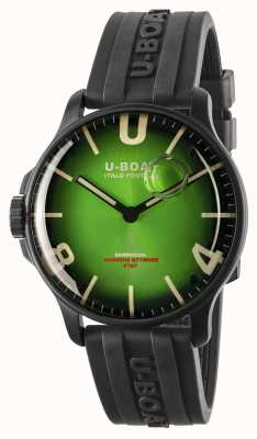 U-Boat Darkmoon 44mm Noble Green IPB/ Rubber Strap 8698