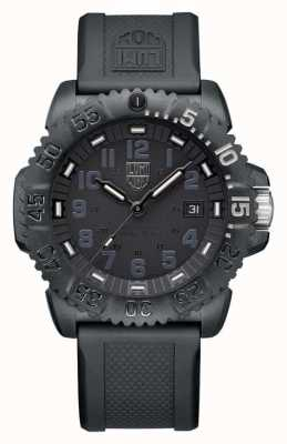 Luminox Navy Seal Foundation | 3050 Series | Black Silicone Strap XS.3051.GO.NSF