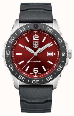 Luminox Pacific Diver | Red Dial | Black Rubber Strap XS.3135