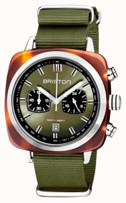 Briston | Clubmaster Sport | Acetate | Olive | 20142.SA.TS.26.NOL