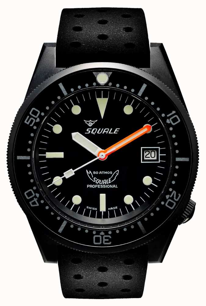 Squale 1521PVD.NT-CINTRB20