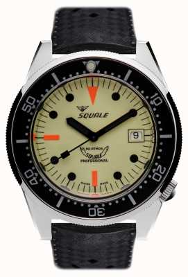 Squale FULL LUMINOUS | Automatic | Luminous Dial | Black Tropic Strap 1521FULL-CINHTRB20