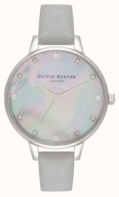 Olivia Burton Demi Grey MOP Grey And Silver OB16SE16