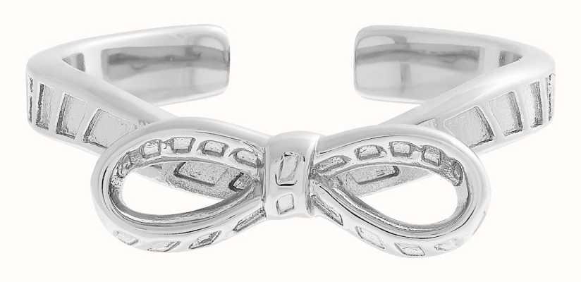 Olivia Burton Women's | Silver Bow Ring OBJVBR19