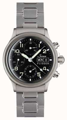 Sinn 356 Pilot Traditional Chronograph (German Date) Bracelet 356.020 BRACELET