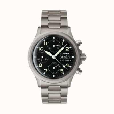 Sinn 356 Pilot Traditional Chronograph (English Date) Metal Bracelet 356.022-BRACELET