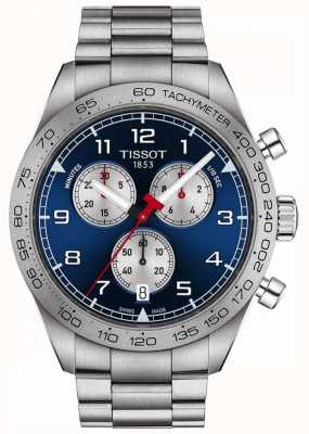 Tissot PRS 516 | Chronograph | Blue Dial | Stainless Steel Bracelet T1316171104200