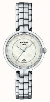 Tissot Flamingo | Mother Of Pearl Dial | Stainless Steel Bracelet T0942101111601