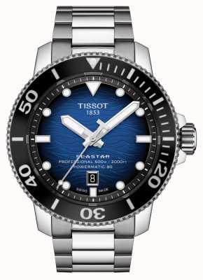 Tissot Seastar 2000 Pro | Powermatic 80 | Blue Dial | Steel T1206071104101