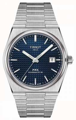 Tissot PRX 40 205 | Powermatic 80 | Blue Dial | Stainless Steel T1374071104100