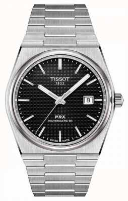 Tissot | PRX 40 205 | Powermatic 80 | Black Dial | Stainless Steel Bracelet | T1374071105100
