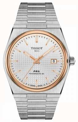 Tissot | PRX 40 205 | Powermatic 80 | White Dial | Stainless Steel Bracelet | T1374072103100