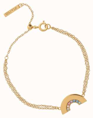 Olivia Burton Rainbow Gold Bracelet OBJRBB10