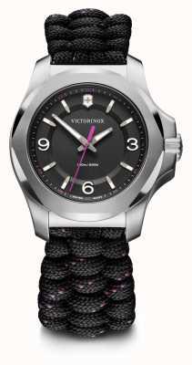 Victorinox Swiss Army | I.N.O.X. V | Women's | Black Paracord Strap | Black Dial 241918