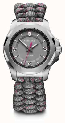 Victorinox Swiss Army | I.N.O.X. V | Women's | Grey Paracord Strap | Grey Dial 241920