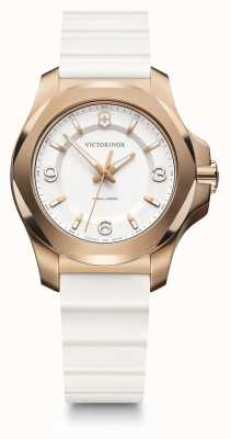 Victorinox Swiss Army | I.N.O.X. V | Women's | White Silicone Strap | White Dial | 241954