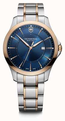 Victorinox Swiss Army | Alliance | Men's | Two-Tone Steel Bracelet | Blue Dial | Rose Gold Bezel 241911