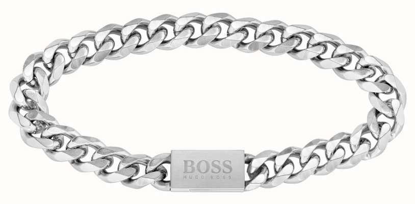 BOSS Jewellery Chain Link Bracelet Stainless Steel 1580144M