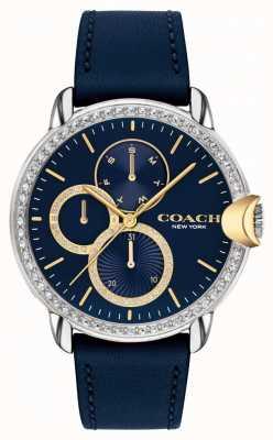 Coach Women's Arden | Blue Leather Strap | Blue Dial 14503734