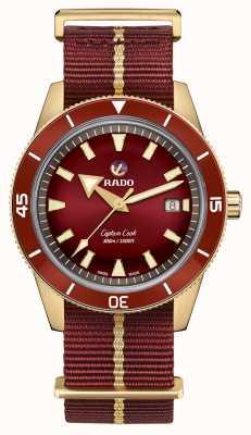 RADO Captain Cook Automatic Bronze Burgundy R32504407