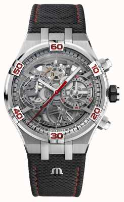 Maurice Lacroix AIKON Mahindra Racing Special Edition Skeleton Dial AI6098-SS001-091-2