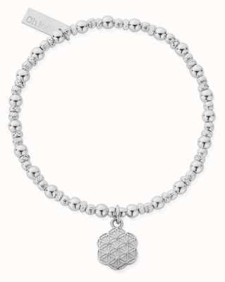ChloBo Flower Of Life Bracelet | Sterling Silver SBFOL3116