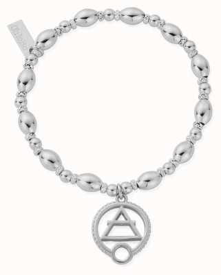 ChloBo Oval Bead Air Bracelet | Sterling Silver SBOB3118