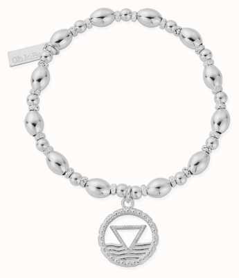 ChloBo Oval Bead Water Bracelet | Sterling Silver SBOB3121
