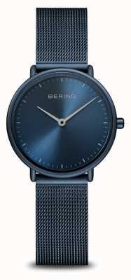 Bering Classic Ultra Slim Blue Monochrome Watch 15729-397