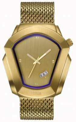 STORM Cyrex Gold | Gold Steel Mesh Bracelet 47488/GD