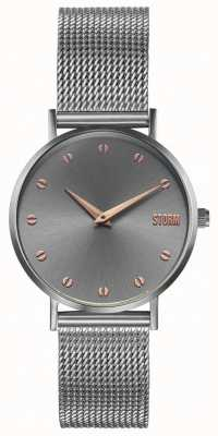 STORM Neoxa Mesh Grey | Steel Mesh Bracelet 47492/GY