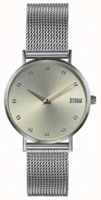 STORM Neoxa Mesh Silver Gold | Silver Mesh Bracelet 47492/S