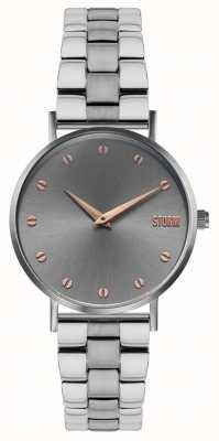 STORM Neoxa Metal Grey | Two-Tone Steel Bracelet 47493/GY