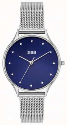 STORM Ariana Blue | Stainless Steel Mesh Bracelet 47494/B