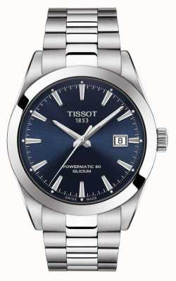 Tissot | Powermatic 80 Silicium | Automatic | Blue Date Dial | T1274071104100