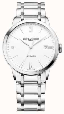 Baume & Mercier Men's Classima Automatic White Dial Watch M0A10311