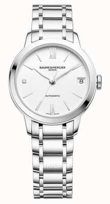 Baume & Mercier Classima White Dial Bracelet Watch M0A10312