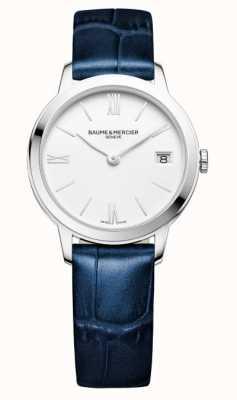 Baume & Mercier Classima Quartz Blue Leather Strap M0A10353