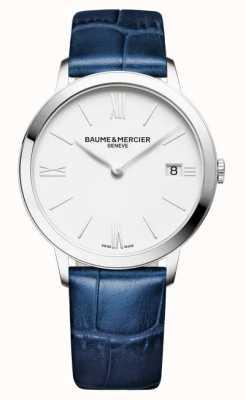 Baume & Mercier Men's Classima Blue Leather Strap M0A10355