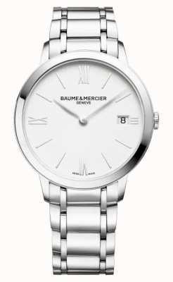 Baume & Mercier Classima Quartz White Dial Watch M0A10356