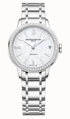 Baume & Mercier Women's Classima Diamond Set Bezel M0A10479