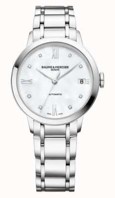 Baume & Mercier Classima Diamond Set Automatic Watch M0A10496