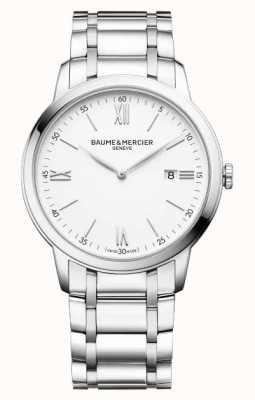 Baume & Mercier Classima Stainless Steel Bracelet Quartz Watch M0A10526