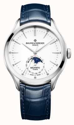 Baume & Mercier Clifton Baumatic Moonphase Display Watch M0A10549