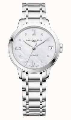 Baume & Mercier Classima Women's Automatic Diamond Set Watch M0A10553